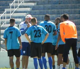 Catanduvense treinamento (Foto: Divulgação / Grêmio Catanduvense)