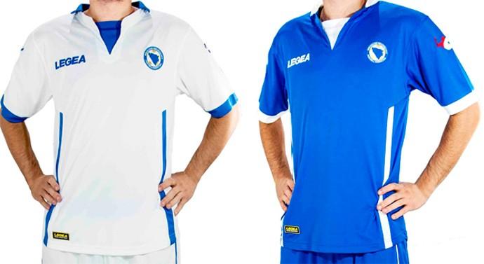 bósnia-herzegovína camisa copa