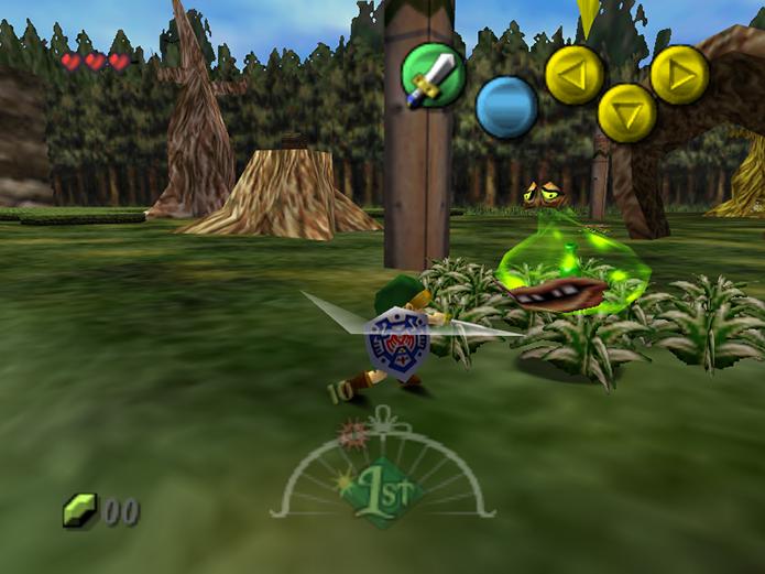 Majoras Mask é um dos títulos mais importantes do console (Foto: Reprodução)