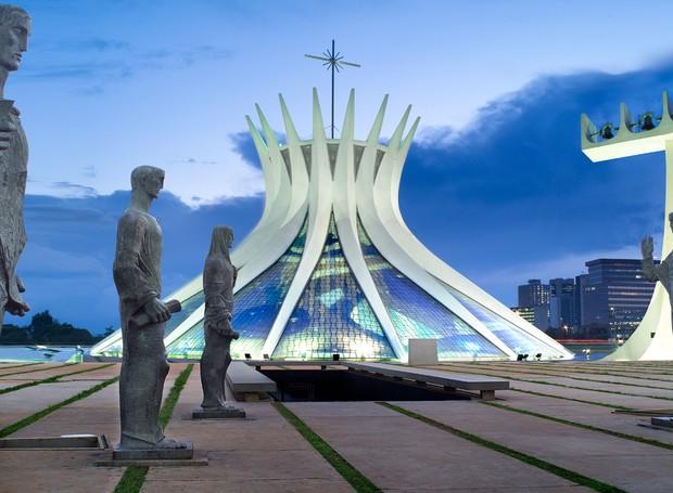 Catedral de Brasília, de Oscar Niemeyer (Foto: Reprodução)