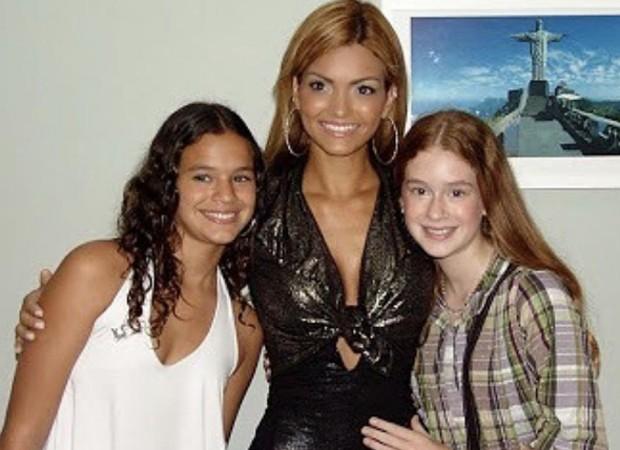 Bruna Marquezine, Kelly Key e Marina Ruy Barbosa (Foto: Reprodução/Instagram)