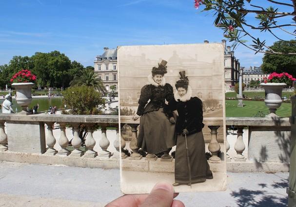 Jardin du Luxembourg, 1895 (Foto: JULIEN KNEZ / ERNEST ROGER / ROGER-VIOLLET)