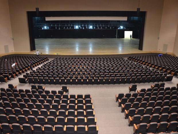 Teatro Pedra do Reino tem capacidade para quase 3 mil pessoas (Foto: João Francisco/Secom-PB)
