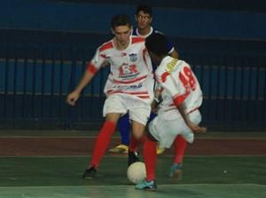 Júlio Guerra é a campeã da 1ª Copa Ji-Paraná de Futsal Sub-20 (Foto: Chico Limeira/Arquivo Pessoal)