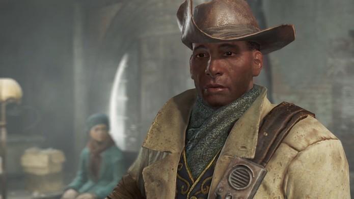 Preston: companion de Fallout 4 (Foto: Reprodução/Fallout 4 Base)