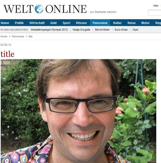 O pastor evangélico Ralf Schmidt (Foto: Reprodução)