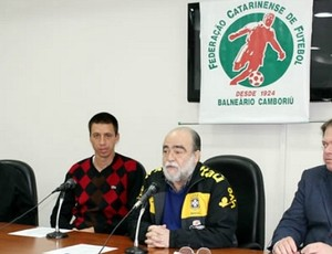 Fernando Gil seleção catarinense federação FCF (Foto: Divulgação/FCF)