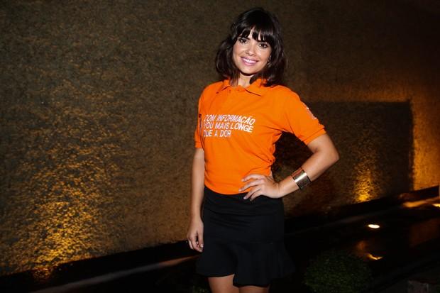 Vanessa Giácomo em evento em São Paulo (Foto: Manuela Scarpa / Foto Rio News)