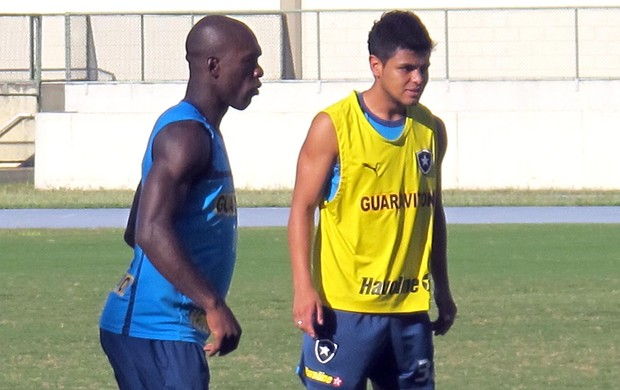 Seedorf e Lima, Botafogo (Foto: Thales Soares / Globoesporte.com)