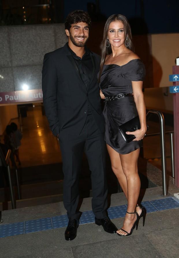 Deborah Secco com o namorado, Hugo Moura (Foto: Iwi Onodera/EGO)