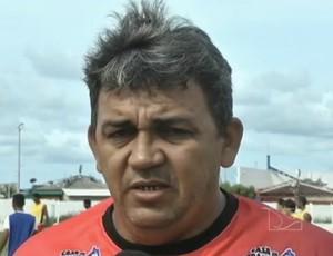 Treinador do Balsas (MA), Djalma Ramos (Foto: Reprodução/TV Mirante)