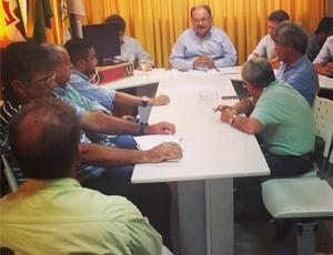 Reunião na FNF define Campeonato Potiguar 2015 (Foto: Alan Oliveira/Divulgação)