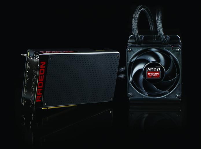 R9 Fury X foi a primeira placa de vídeo a contar com memória RAM do tipo HBM (Foto: Divulgação/AMD)