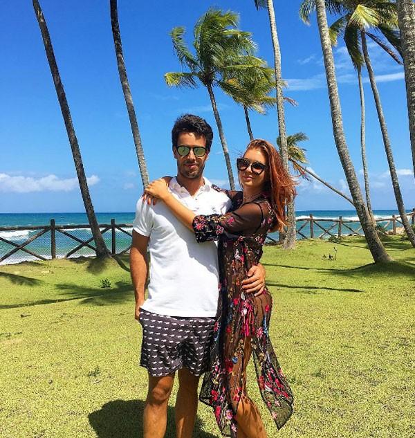 Marina Ruy Barbosa e Xandi Negrão (Foto: Reprodução Instagram)