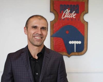 Milton Mendes Paraná Clube (Foto: Divulgação / Site oficial do Paraná Clube)