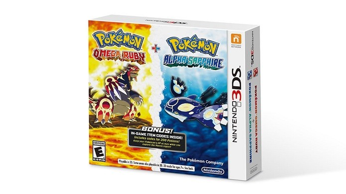 Pokémon Omega Ruby e Alpha Sapphire serão lançados em um pacote único. (Foto: Divulgação)