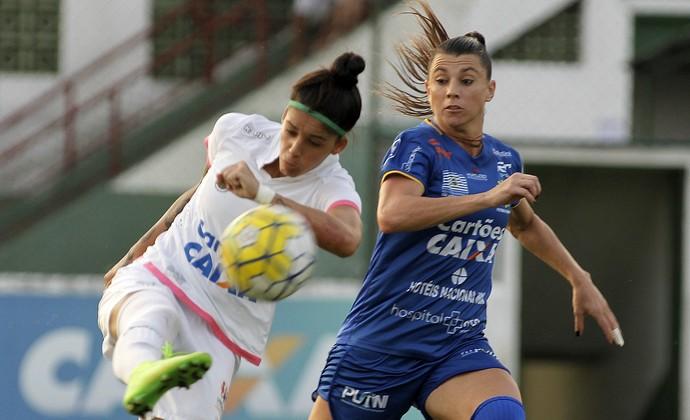 Santos x São José Futebol Feminino (Foto: DANIEL VORLEY/ALLSPORTS)