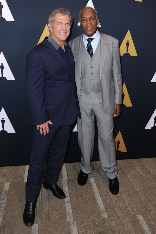 Mel Gibson e Danny Glover (Foto: Getty Images)