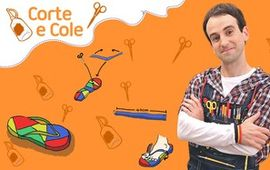 Corte e Cole: Chinelo