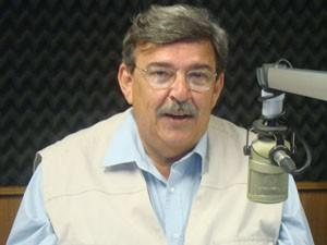 Haroldo Saboia participou nesta segunda-feira (10) da série de entrevistas. (Foto: Zeca Soares/G1)