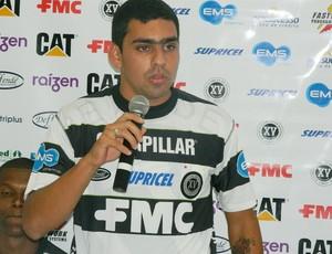 Adriano Duarte, atacante do XV de Piracicaba (Foto: Guto Marchiori/Globoesporte.com)