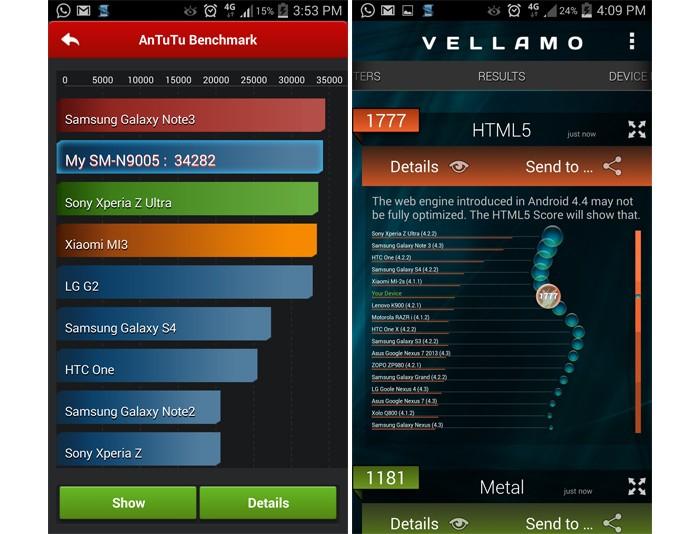 Desempenho do Note 3 é top, mas poderia ser melhor sem a pesada interface TouchWiz (Foto: Reprodução)