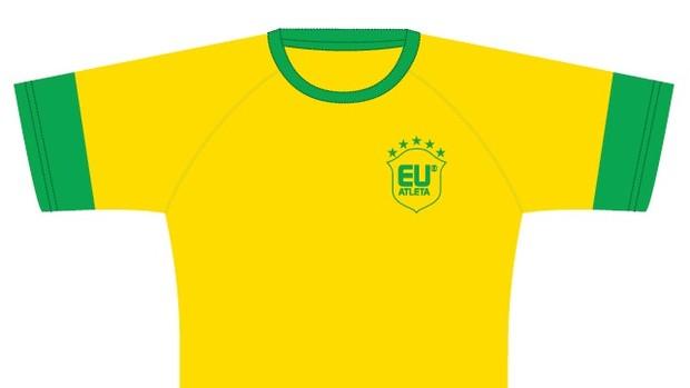 camisa corrida eu atleta sp (Foto: Divulgação)