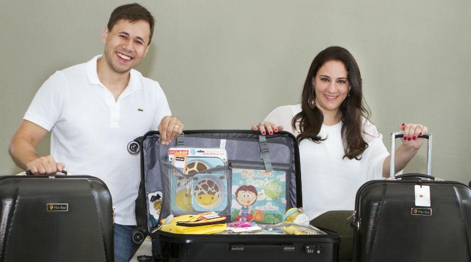 A empresa oferece até 100 itens dentro das malas (Foto: Divulgação)