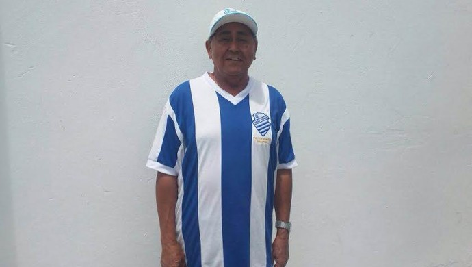 CSA - aniversário 103 anos - George Charanga CSA (Foto: Augusto Oliveira/GloboEsporte.com)