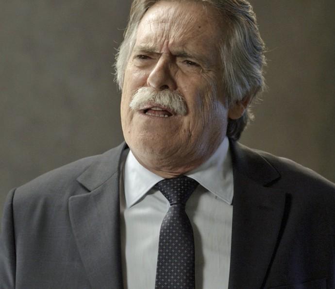 Gibson é o pai da facção (Foto: TV Globo)