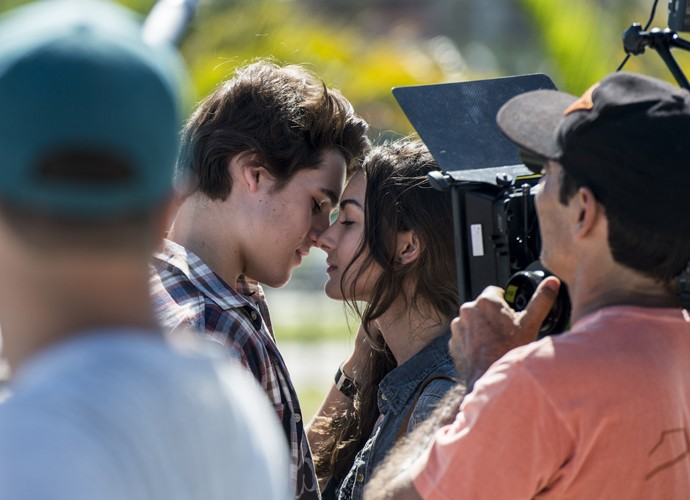 Claro que não pode faltar o beijo, né?! (Foto: Ellen Soares/Gshow)