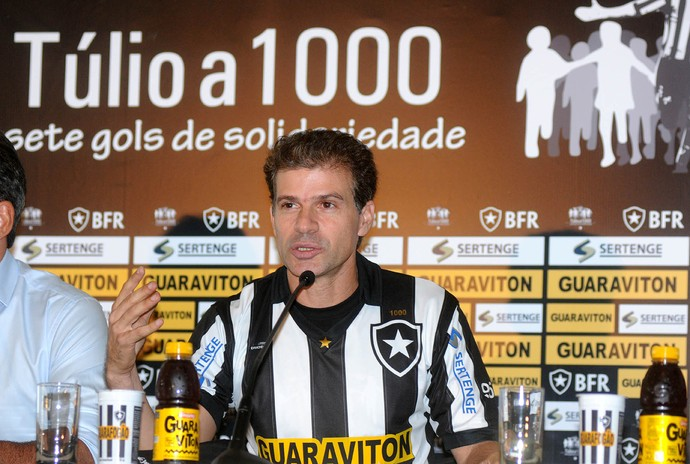 Dossiê Botafogo - Tulio Maravilha (Foto: André Durão)