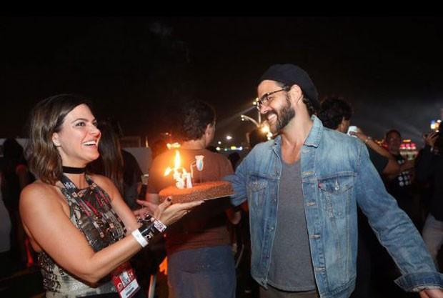 Carol Sampaio e Juliano Cazarré (Foto: Reprodução/Instagram)