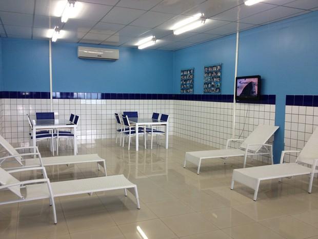 Empresa disponibiliza sala de descanso para colaboradores (Foto: Vanessa Lima)