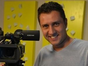 Cinegrafista (Foto: Reprodução / TV Diário)