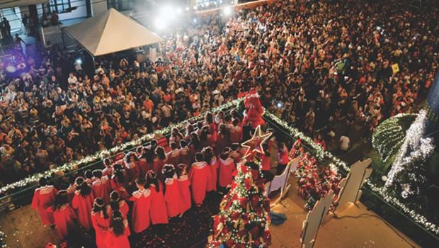 Venha se emocionar com a apresentação do Coral de Natal, em Foz (Foto: Divulgação)