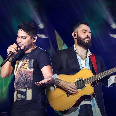 Jorge e Mateus, Flávio José, Chicabana e É o Tchan (Foto: Divulgação)
