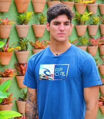 Gabriel Medina entrevista TV Vanguarda (Foto: Danilo Sardinha/ GloboEsporte.com)