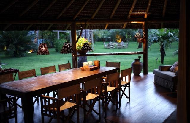 Para jantar ao ar livre (Foto: Divulgação)
