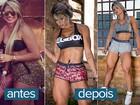 Janaina Santucci esculpe corpo para campeonato: '6% de gordura'