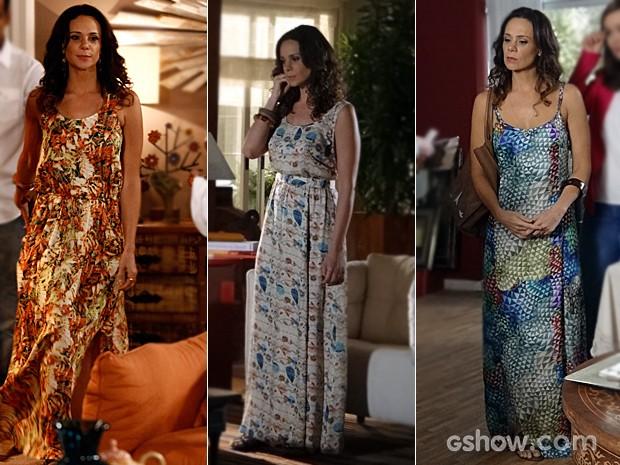 Os vestidos de Juliana também caíram no gosto das espectadoras (Foto: Inácio Moraes / Em Família / TV Globo)