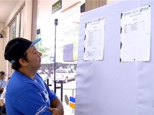 Desemprego no Tocantins (Foto: Reprodução/TV Anhanguera)