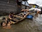 Vilarejo no Peru chamado de 'Veneza da selva' sofre com falta de estrutura