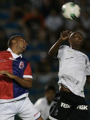 Ceará x Paraná pela Copa do Brasil (Foto: Kiko Silva/Agência Diário)