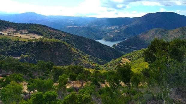 Vista da cidade de Ollolai, na Itália (Foto: Divulgação)