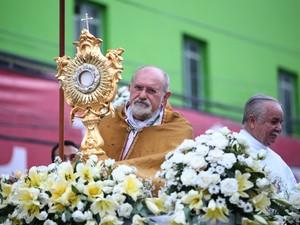 Arcebispo de Maceió, Dom Antônio Muniz (Foto: Jonathan Lins/G1)