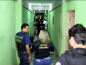 Operações em busca de menores em risco contam com a polícia, conselheiros tutelares e varas da infância (Foto: G1 RN)