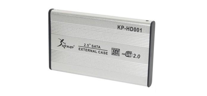 Case para HD externo de 2,5 Knup (Foto: Divulgação)