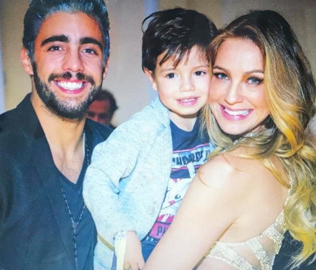 Luana Piovani com o marido e o filho (Foto: Reprodução/Instagram)