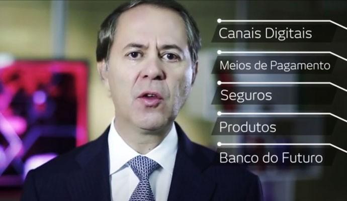 Maurício Minas, vice-presidente da Bradesco, explica o programa de atração de startups.